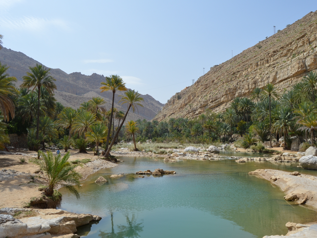 Wadi Bani Khalid one of the states affiliated to the North Sharqiyah Governorate 13 1